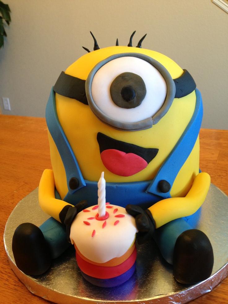 Pleasant Library Of Minion Birthday Cake Free Stock Files Funny Birthday Cards Online Inifodamsfinfo