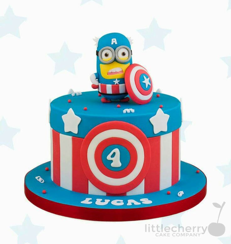 Minion birthday cake clipart png black and white library 1000+ images about Party - super heroes on Pinterest | Minion ... png black and white library