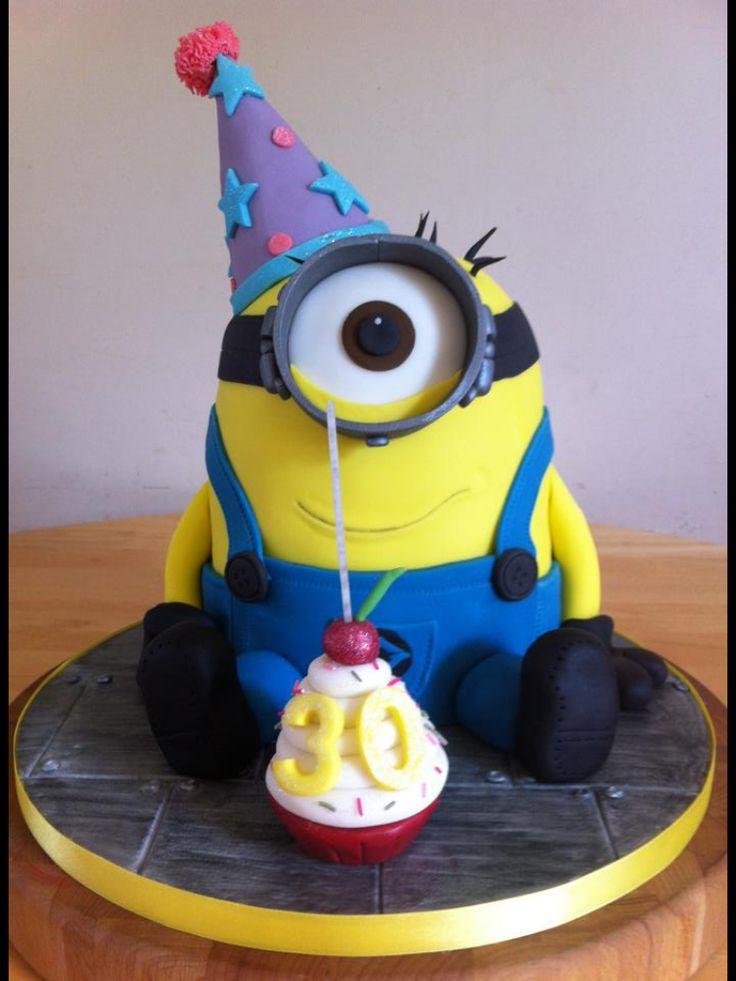 Minion birthday cake clipart clip art free stock MINION BIRTHDAY CAKE - Fomanda Gasa clip art free stock