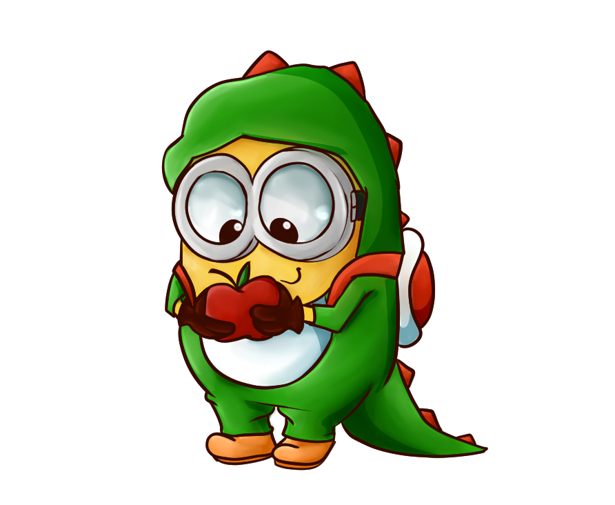 Minions christmas clipart png Yoshi Minion by LostOasis on DeviantArt png