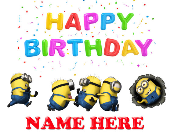 Minion happy birthday clipart picture royalty free Minions happy birthday clip art - ClipartFox picture royalty free