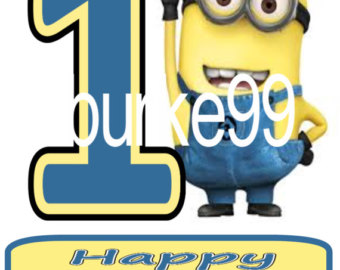 Minion happy birthday clipart svg library library Despicable me birthday clipart - ClipartFox svg library library