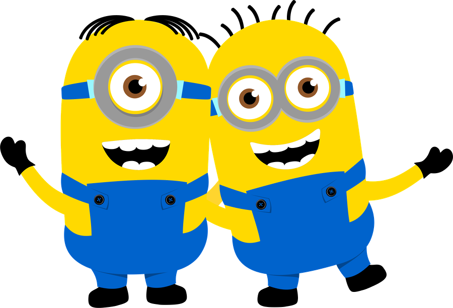 Minion school clipart banner library Despicable Me and the Minions Clip Art.   Oh My Fiesta! in english banner library