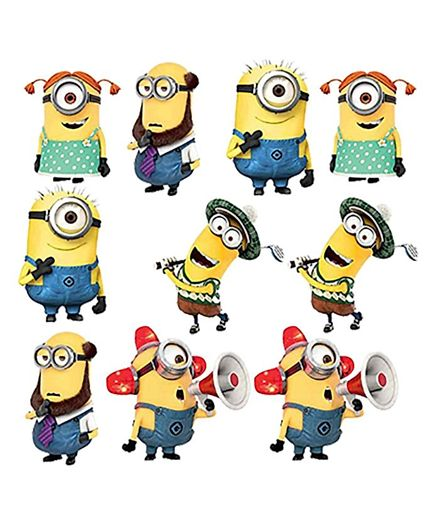 Minion single hand cutout clipart clipart library stock Party Propz Minion Cut Out Pack of 10 Yellow & Blue Online in India, Buy at  Best Price from Firstcry.com - 2286508 clipart library stock