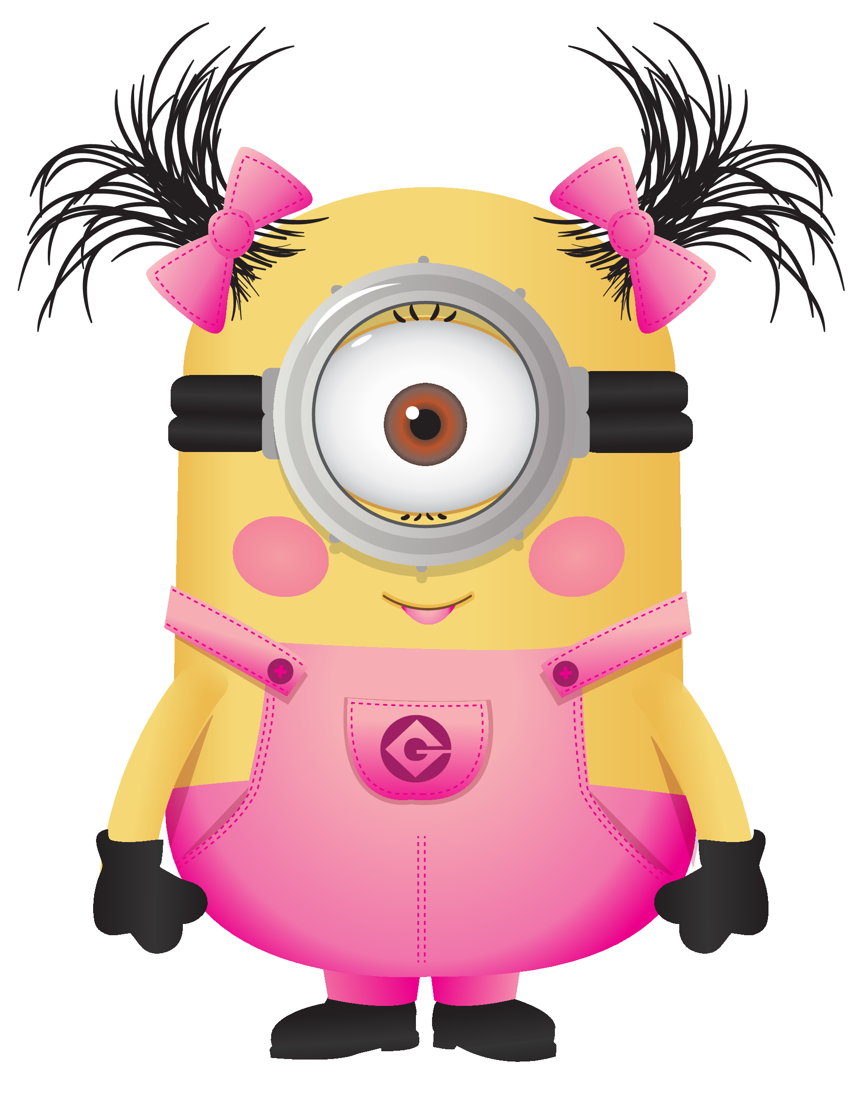 Library of minion single hand cutout clip art png files ...