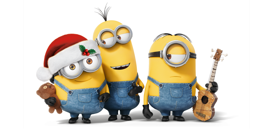 Minions christmas clipart clip library library Minions clip library library