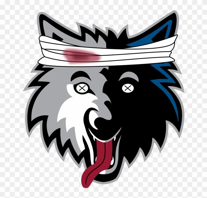 Minnesota timberwolves logo clipart vector black and white stock Timberwolves Logo Png Clipart - Minnesota Timberwolves Logo ... vector black and white stock