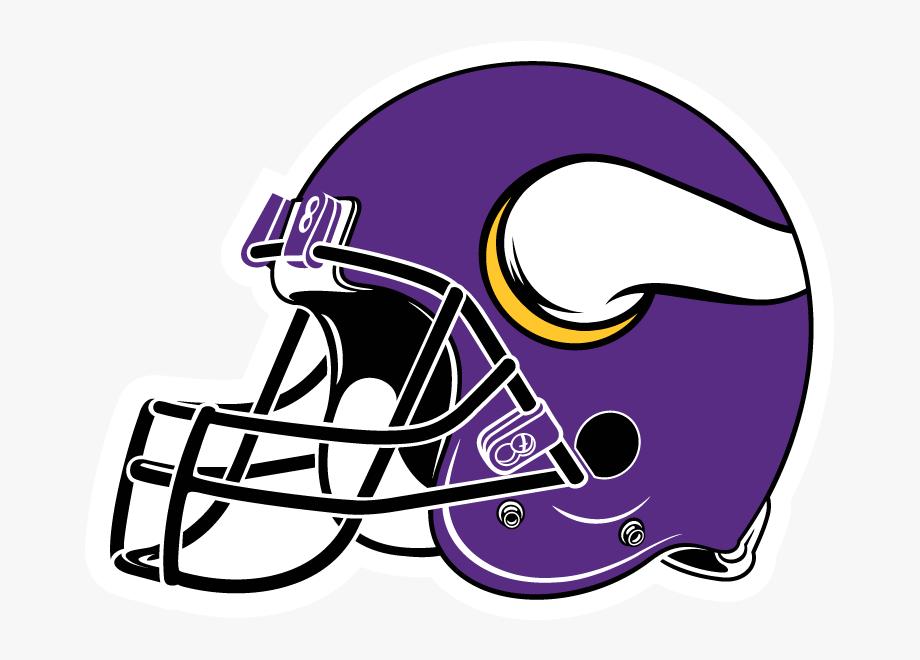 Minnesota viking clipart clip art transparent Nfl Clip Helmet Clipart - Minnesota Vikings Helmet #76353 - Free ... clip art transparent