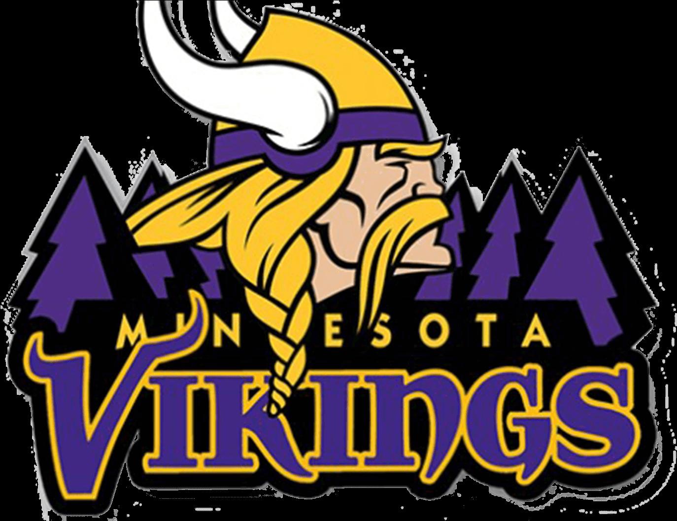 Minnesota viking clipart image black and white Minnesota Vikings Png Logo Clipart - Full Size Clipart (#1411692 ... image black and white