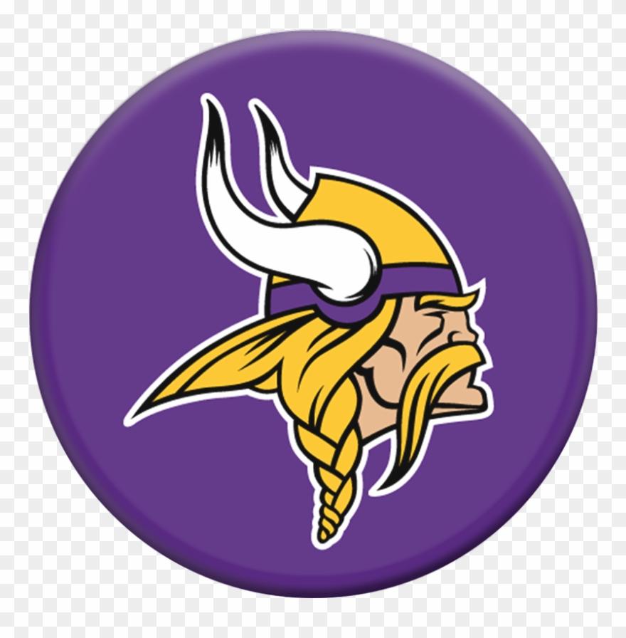Minnesota viking clipart graphic free download Nfl Minnesota Popsockets Grip - Minnesota Vikings Logo Clipart ... graphic free download