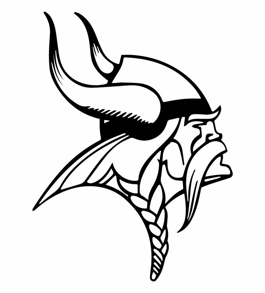 Index Of - Minnesota Vikings Logo Black And White Free PNG Images ... vector free library