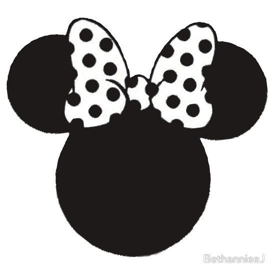 Minnie bow clipart black and white image royalty free stock Minnie mouse bow clipart black and white 8 » Clipart Portal image royalty free stock