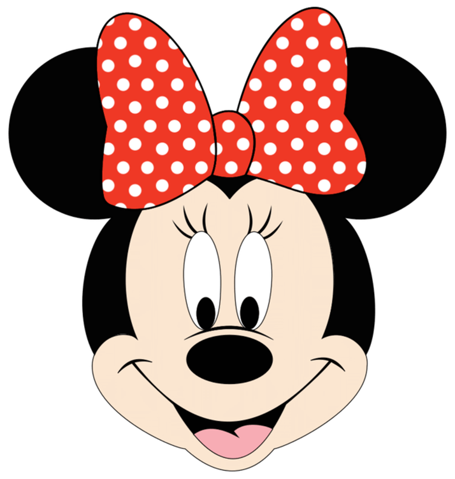 Minnie crown clipart vector free stock Minnie Mouse Head Clipart (117+) vector free stock