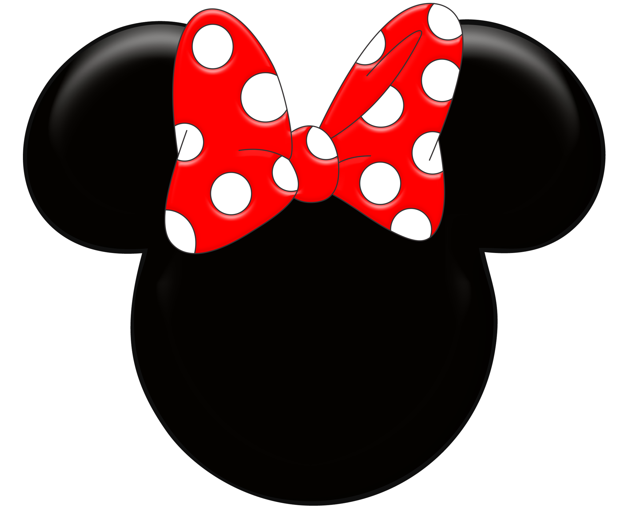 Minnie mouse head clipart banner royalty free download Red Minnie Mouse Wallpaper | Clipart Panda - Free Clipart ... banner royalty free download