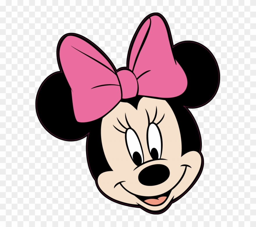 Minnie mouse head clipart black and white Sandra Calle On Pinterest - Minnie Mouse Head Pink Clipart ... black and white