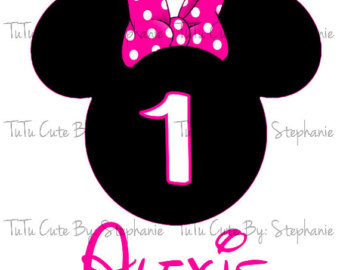 Minnie mouse 1st birthday clipart svg library stock Minnie Mouse 1st Birthday Clip Art | Clipart Panda - Free Clipart ... svg library stock