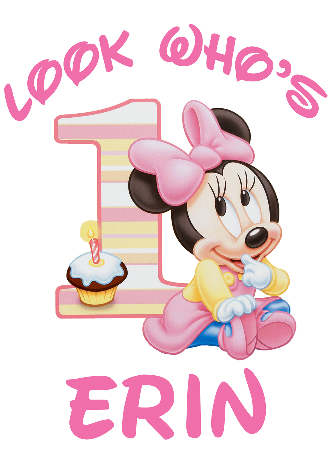 Minnie mouse 1st birthday clipart vector royalty free Baby minnie mouse 1st birthday clipart - ClipartFest vector royalty free
