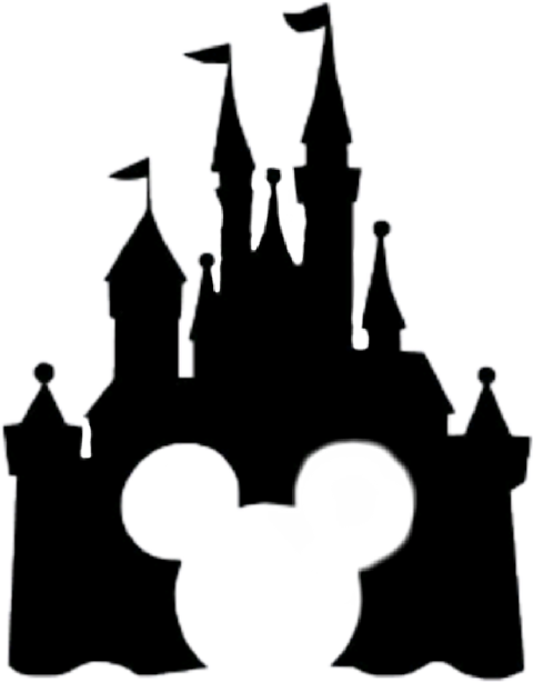 Minnie mouse ears with disney kingdom clipart black and white download Mickey Mouse Minnie Mouse Sleeping Beauty Castle The Walt Disney ... black and white download