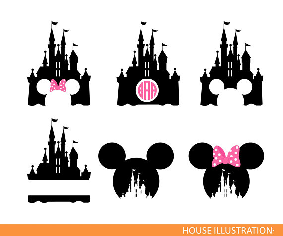 Minnie mouse ears with disney kingdom clipart clipart transparent Disneyland Clipart & Look At Clip Art Images - ClipartLook clipart transparent