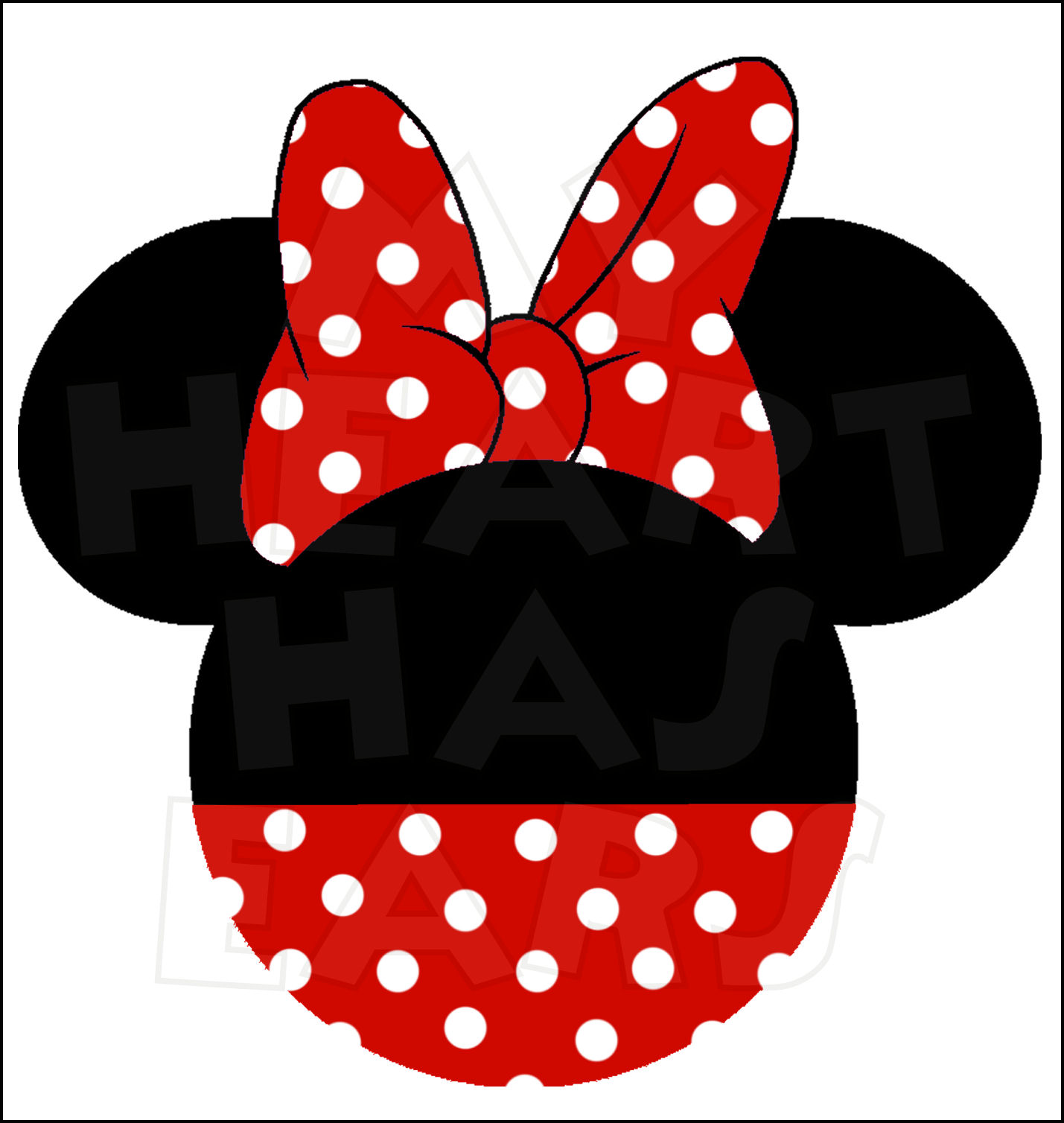 Minnie mouse head outline clipart picture freeuse download Free Minnie Mouse Head Outline, Download Free Clip Art, Free Clip ... picture freeuse download