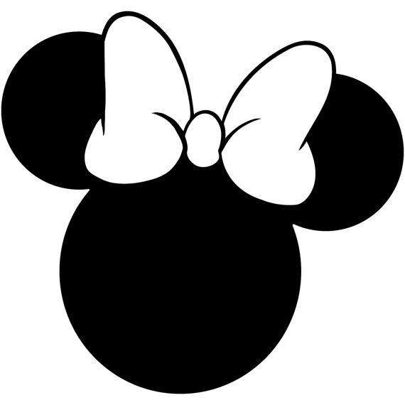 Minnie mouse head outline clipart jpg transparent download Minnie Mouse Head | Free download best Minnie Mouse Head on ... jpg transparent download