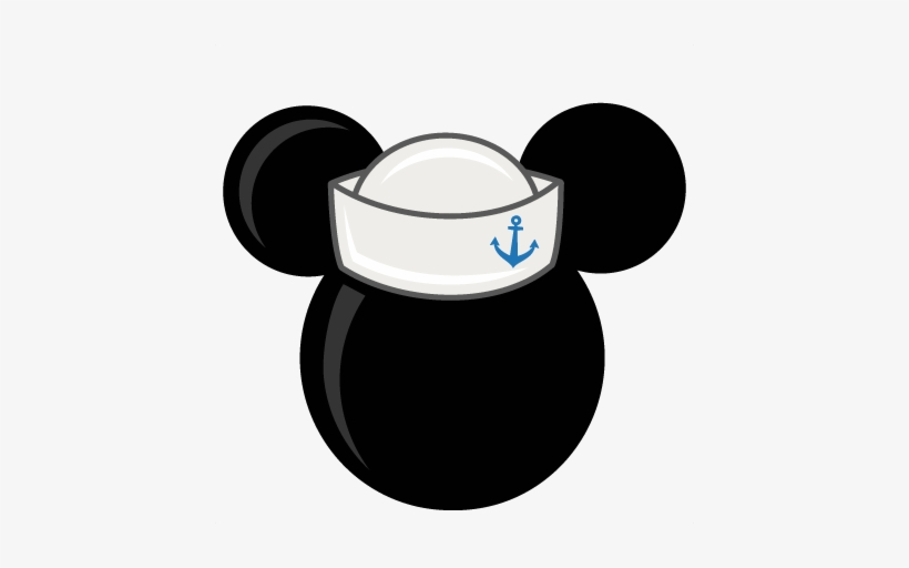 Minnie mouse head with sailor hat clipart download Mouse Head With Sailor Hat Freebies Free Svg Files - Mickey Mouse ... download
