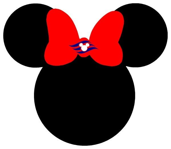 Minnie mouse head with sailor hat clipart image black and white download Minnie Mouse Clip Art Clip Art Disney Clipart Pinterest Mice ... image black and white download