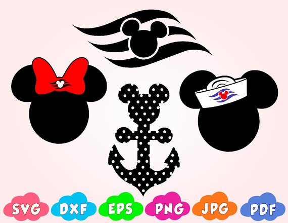 Minnie mouse head with sailor hat clipart jpg freeuse Mickey Mouse cruise svg,Disney Cruise SVG,Mickey Mouse Sailor Ear ... jpg freeuse