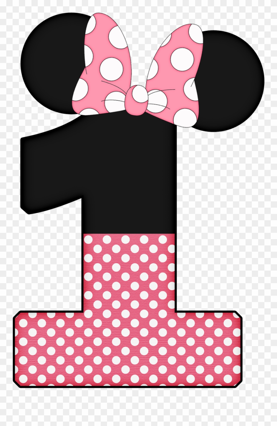 Minnie mouse with one hand out clipart clip black and white library Number Clipart Minnie Mouse - Letra L De Minnie - Png ... clip black and white library
