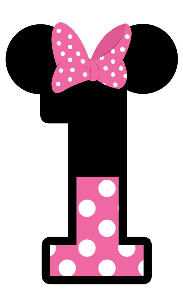 Minnie mouse with one hand out clipart picture royalty free stock Minnie Mouse 1st Birthday Clipart | Free download best ... picture royalty free stock