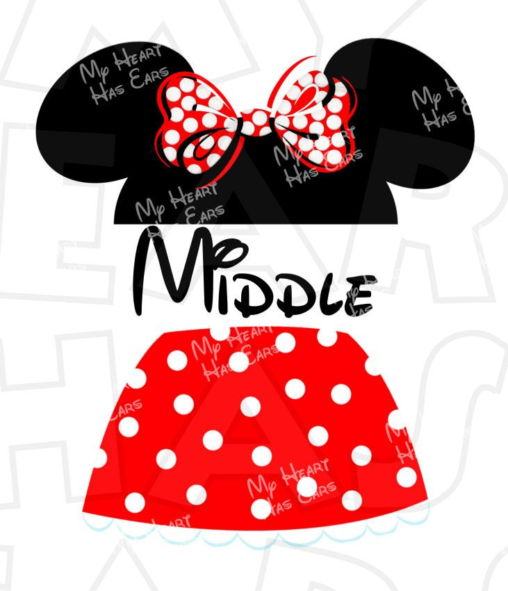 Minnie outline with monogram in middle clipart picture Minnie Mouse Head Outline | Free download best Minnie Mouse ... picture