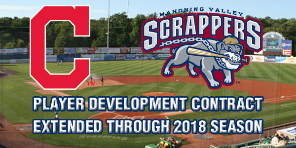 Minor league player development contracts svg download Scrappers and Indians Renew Player Development Contract | MiLB.com ... svg download