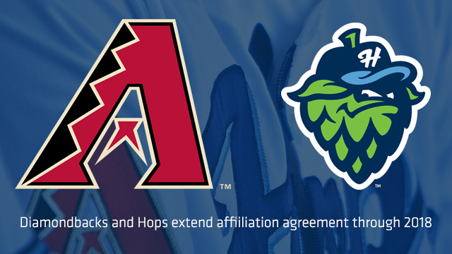 Minor league player development contracts picture transparent library D-backs and Hops Extend Player Development Contract | MiLB.com ... picture transparent library