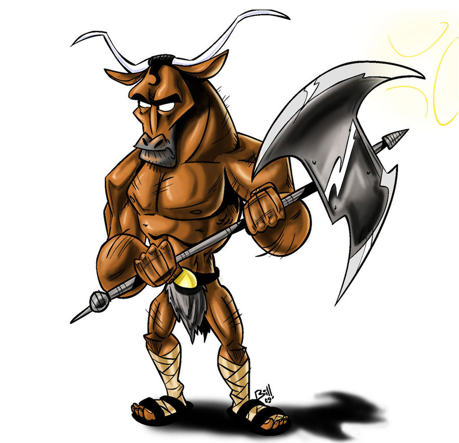 Minotauro clipart vector royalty free Minotaur Clipart (102+ images in Collection) Page 1 vector royalty free