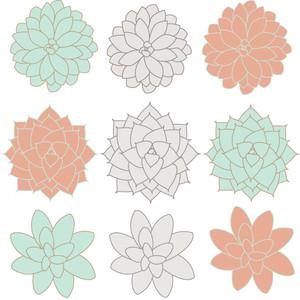 Mint flower clipart clipart transparent 3 ~Flower Power~ <3 - Polyvore clipart transparent