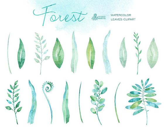 Mint grass clipart svg freeuse Watercolors, Invitations and Wedding on Pinterest svg freeuse