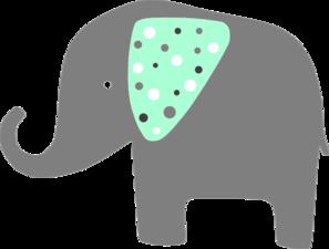 Mint green clipart download Mint Green Elephant Clip Art at Clker.com - vector clip art online ... download