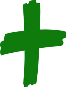 Green cross clipart for free - ClipartFest picture library