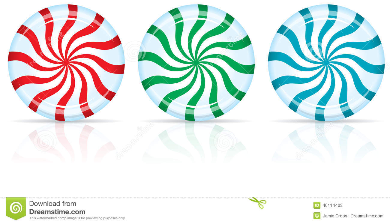 Red And Green Peppermint Candy Clipart - Clipart Kid banner download