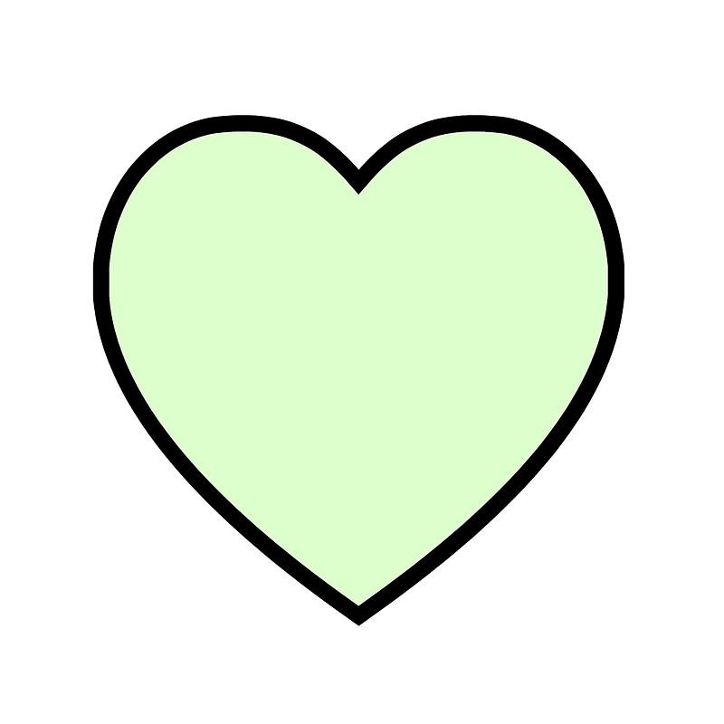 Mint green heart clipart svg transparent library mint green heart