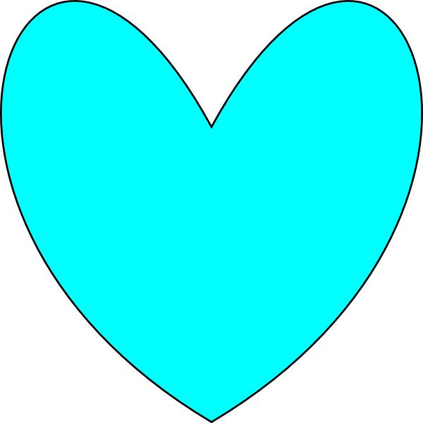 Mint heart clipart graphic free download Heart 53 Clip Art at Clker.com - vector clip art online, royalty ... graphic free download