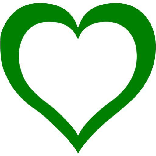 Mint green heart clipart jpg freeuse Green heart icon - Free green heart icons jpg freeuse
