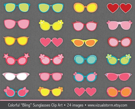 Mint green sunglasses clipart free 17 Best images about Animal Illustrations & Clipart - VizualStorm ... free