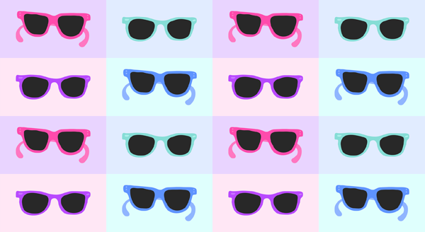 Mint green sunglasses clipart image black and white The Writing's On The Wall: Cruel Summer image black and white