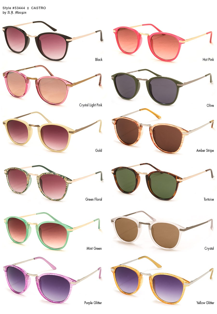 Mint green sunglasses clipart jpg freeuse library Round Sunglasses for Men and Women | 53444 - Castro jpg freeuse library