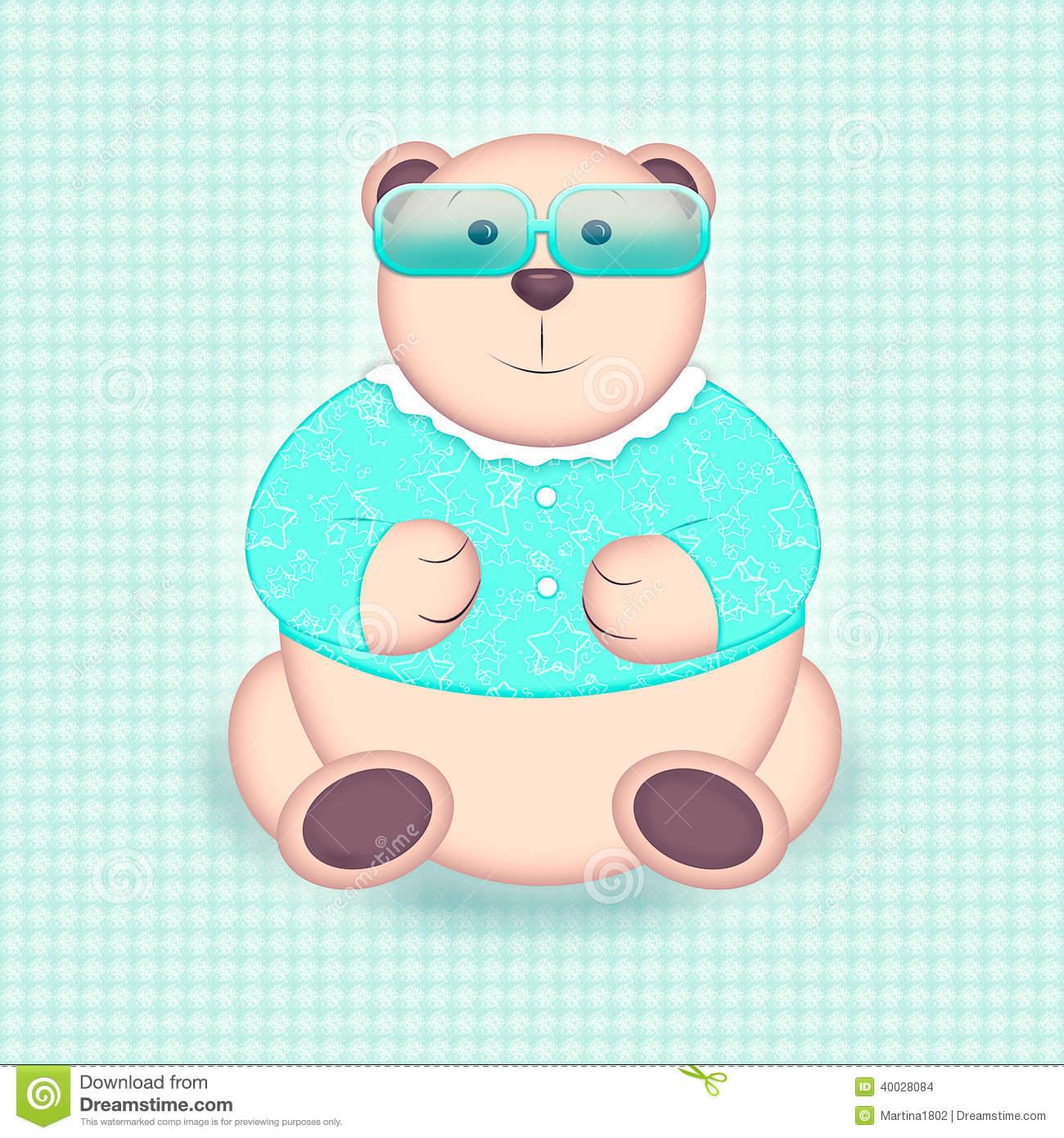 Mint green sunglasses clipart jpg freeuse Bear Portrait In Sunglasses Stock Illustration - Image: 40028084 jpg freeuse