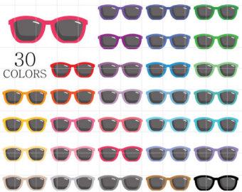 Mint green sunglasses clipart image freeuse Sunglasses clipart | Etsy image freeuse