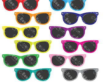 Mint green sunglasses clipart jpg freeuse library Sunglasses clipart | Etsy jpg freeuse library