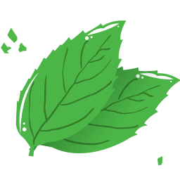Mint leaf clip art picture freeuse download Free Icons: Mint leaf Icon | Web | Robin Weatherall picture freeuse download