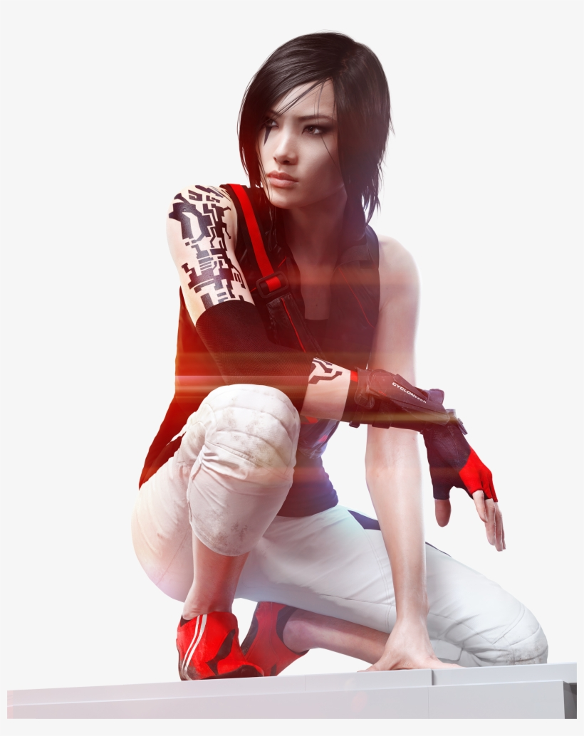 Mirrors edge clipart image transparent download Faith Sitting Render - Mirror\'s Edge Catalyst Faith Png PNG Image ... image transparent download